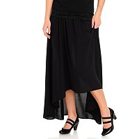 WD.NY Hi Low Maxi Skirt