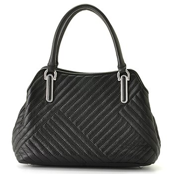 710-691 - Calvin Klein Handbags Quilted Leather Satchel