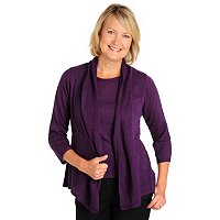 Geneology Pointelle Cardigan and Tank Set