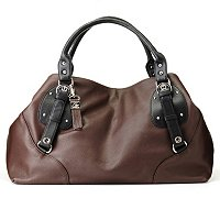 "B-Collective by Buxton ""Milano Collection"" Leather Short Shoulder Bag"