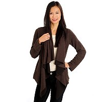 Kate & Mallory No Closure Cascard Cardigan