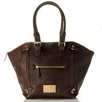 "Jack French London ""Shoredirch"" Leather Handbag"