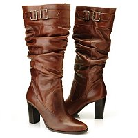 Matisse Penny Buckle Detail Dress Boots