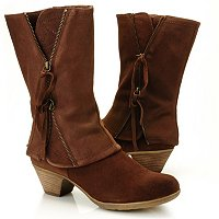Matisse Swell Zipper Detailed Cuffed Boot