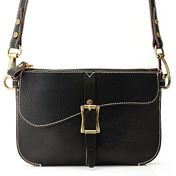 710-963 - PRIX DE DRESSAGE Leather ''Harmony'' Cross Body Bag