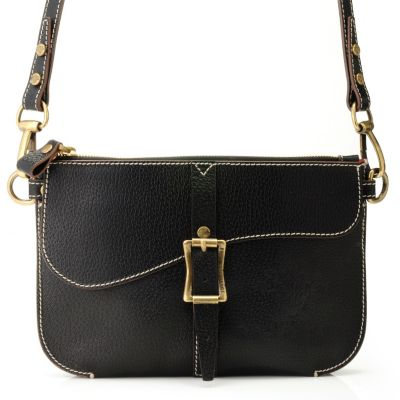 "710-963 - PRIX DE DRESSAGE Leather ""Harmony"" Cross Body Bag"