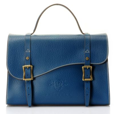 "710-964 - PRIX DE DRESSAGE Leather ""Motion"" Satchel"