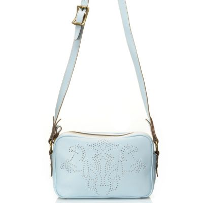 "710-966 - PRIX DE DRESSAGE Leather ""Pride"" Cross Body Bag"