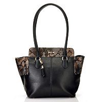 "Buxton ""Alexandria"" Leather Tote"