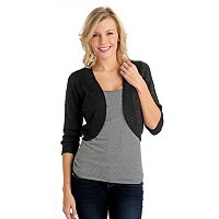 Glitterscape Bolero Shrug