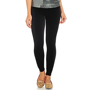 711-148 - aDRESSing WOMAN Velvet Stretch Leggings