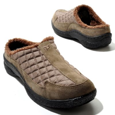"711-288 - Propet ""Alta"" Pile Lined Slip-on Shoes"