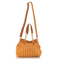 "Nicole Lee ""Sheila"" Studded Sacels Fold Over Satchel"