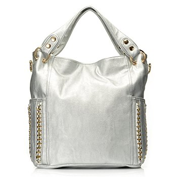 711-394 - LaTique ''Adel'' Chain Detailed Convertible Tote Bag