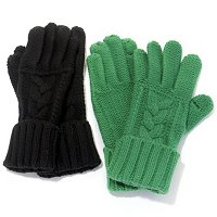 Grandoe Knit Texting Gloves Set of Two