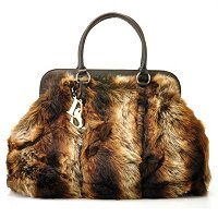 Donna Salyers' Fabulous Furs Faux Fur Weekender Bag