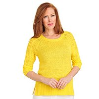 Geneology Elbow Sleeve Pullover