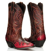Laredo Two Tone Bucklace Western Boot