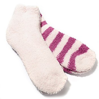 711-897 - Colorado Clothing™ Two-Pack Stripe & Solid Sock Set