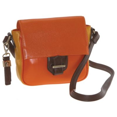 711-899 - Buxton® Hailey Leather Cross Body Bag