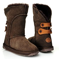 EMU Alba Back Button Boots
