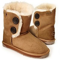 EMU Valery Side Button Short Boots