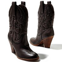 Mia Shoes Laredo Western Inspired Boot