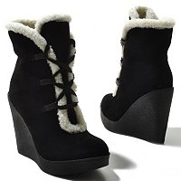 Mia Shoes Glenda Sherpa Lined Bootie