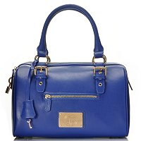 Jack French London The Brook Leather Dome Double Handle Satchel