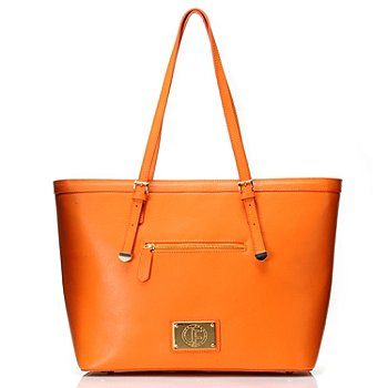 711-971 - Jack French London Leather ''The Belsize'' Large Tote Bag