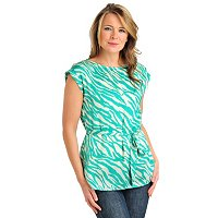 aDRESSing WOMAN Cap Sleeve Tunic