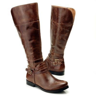"712-058 - Matisse® Leather ""Rochelle"" Wide Width Riding Boots"