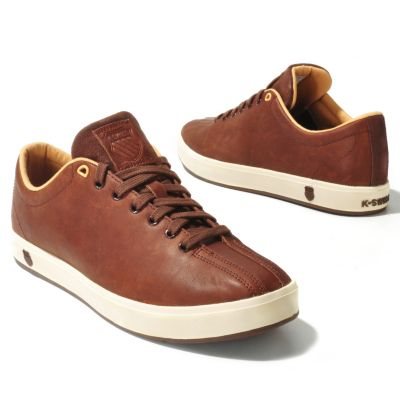 "712-067 - K-Swiss® Men's Leather ""Clean Classic"" Sneakers"
