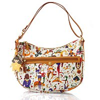 "Piero Guidi Leather Magic Circus ""Stella"" Hobo"