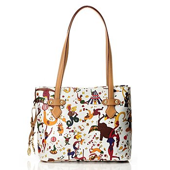 712-075 - Piero Guidi Magic Circus ''Giada'' Small Tote Bag