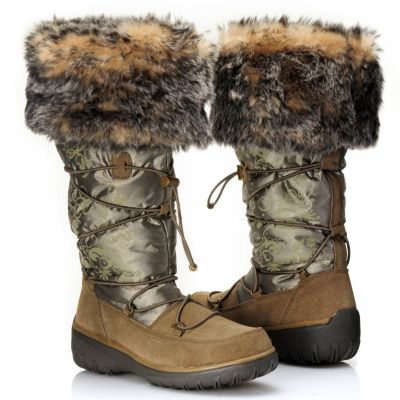 "712-113 - Cougar® Footwear Waterproof ""Ravishing"" Faux Fur Cuffed Cold Weather Boots"