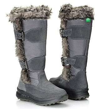 712-115 - Cougar® Footwear Waterproof ''Tamarack II'' Faux Fur Trimmed Insulated Boots