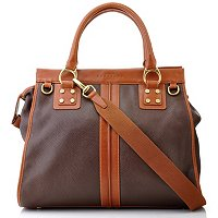 Prix de Dressage/ Leather/ Top Framed/ Detailed Satchel