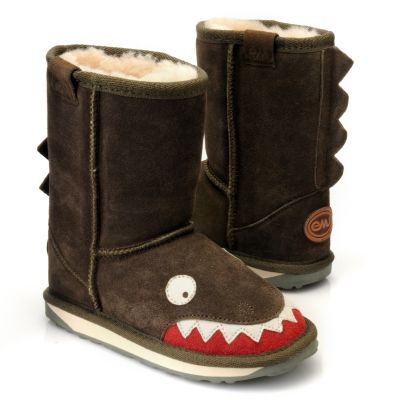 "712-405 - EMU® Kid's Suede Leather ""Little Creatures"" Ankle Boots"