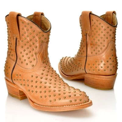 "712-590 - Matisse® Leather ""Faithful"" Studded Short Boots"