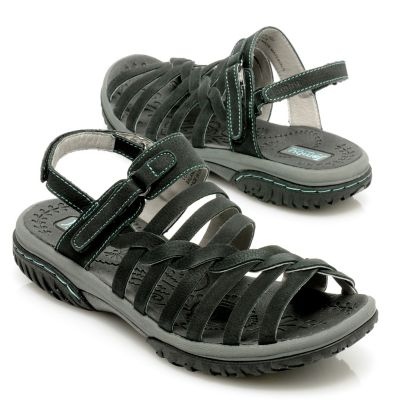 "712-612 - Jambu Leather ""Holly"" Adjustable Sport Sandals"