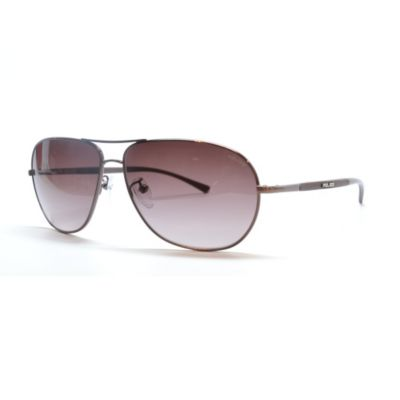 712-797 - Police 8651 SD3 Brown Mens Designer Sunglasses