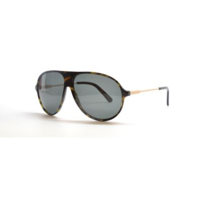 712-805 - Gucci Women's Rose Gold Havana Designer Sunglasses