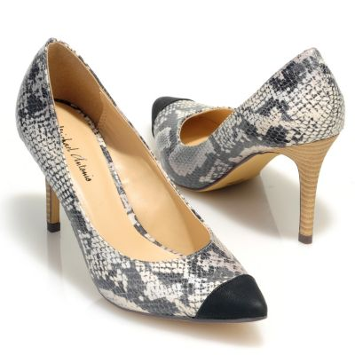 "712-819 - Michael Antonio® ""Lise"" Pointed & Capped Toe Pumps"