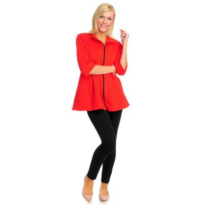 712-882 - OSO Casuals French Terry Zip Front Jacket & Legging Set