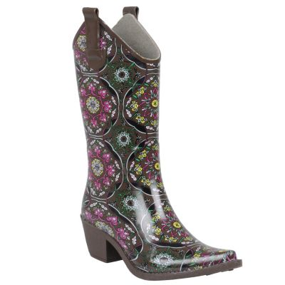 713-090 - Hailey Jeans Co. Women's Cowboy Rainboots