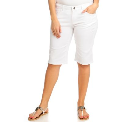 713-110 - OSO Casuals Stretch Twill Five-Pocket Bermuda Shorts