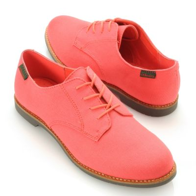 "713-253 - Bass Footwear Canvas ""Ely-2"" Lace-up Oxfords"