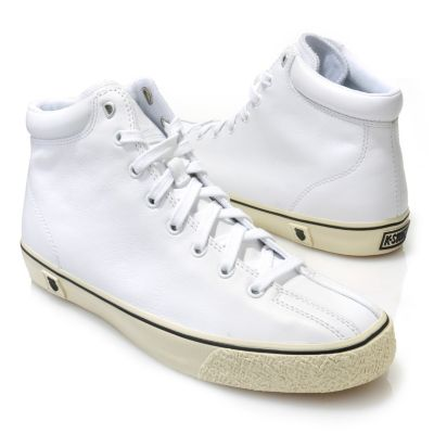 "713-412 - K-Swiss® Men's Leather ""Clean Laguna High VNZ"" High-Top Sneakers"