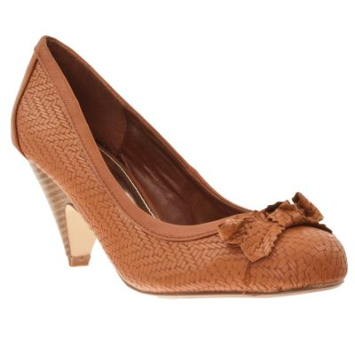 713-557 - Riverberry Women's Farrah Bow-Detail Low-Heel Pumps